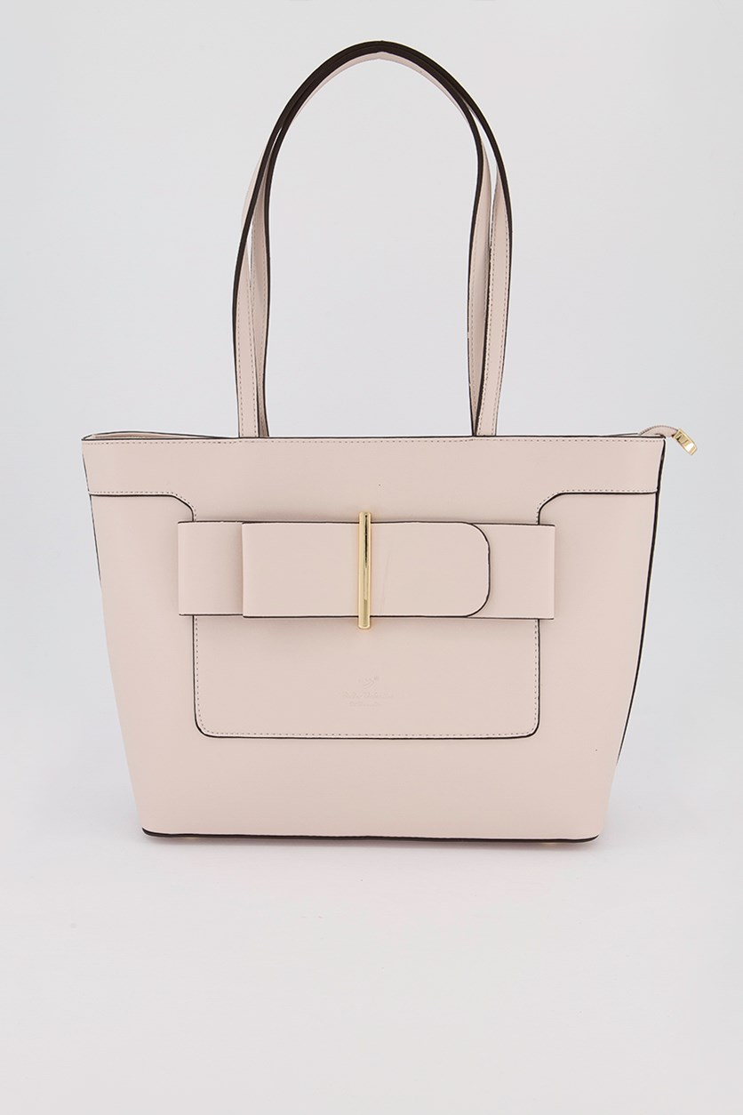 Women's Shoulder Bag, Nude