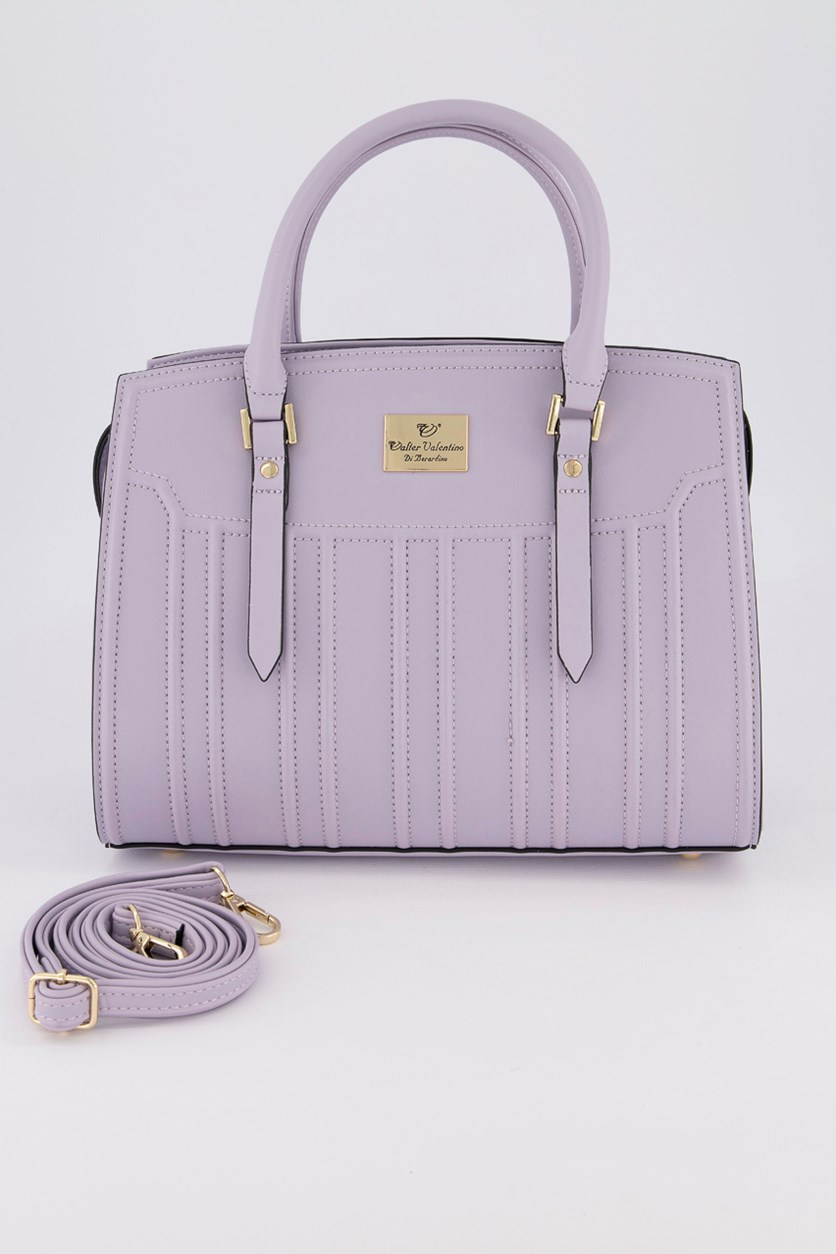 Women's Satchel Bags, Light Purple