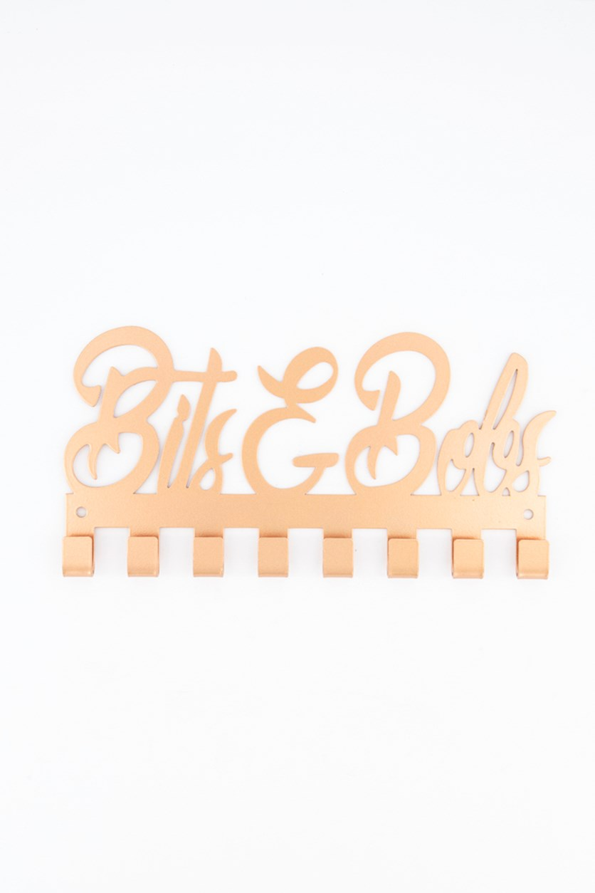 Bits & Bobs Metal Hanger, Rose Gold
