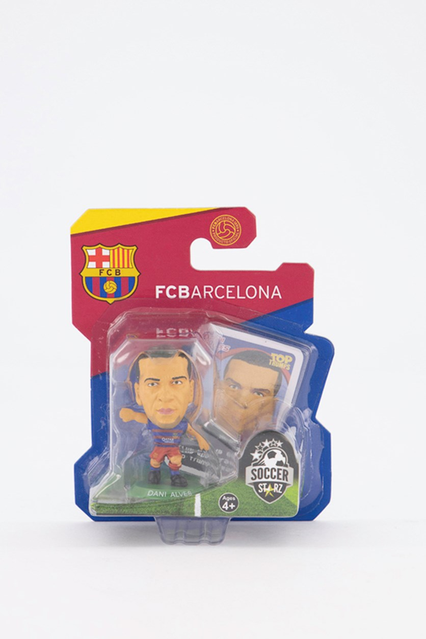 Barcelona Dani Alvez Figure, Blue/Red