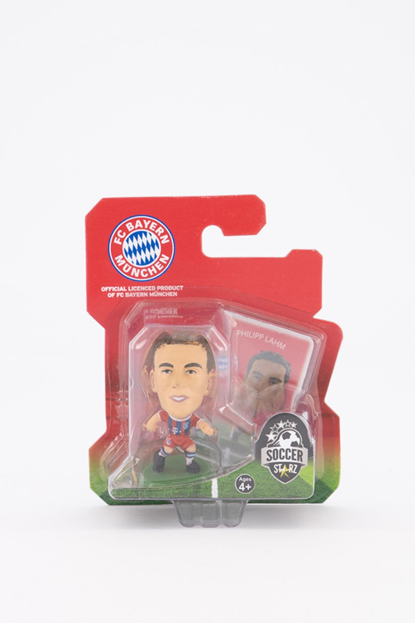 Bayern Munich Philipp Lahm Figure, Red/Blue