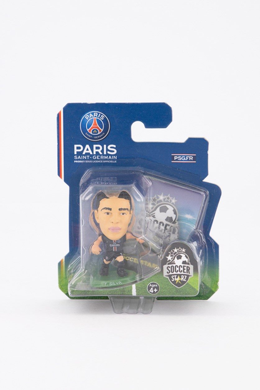 Paris Saint Germain Thiago Silva Figure, Black