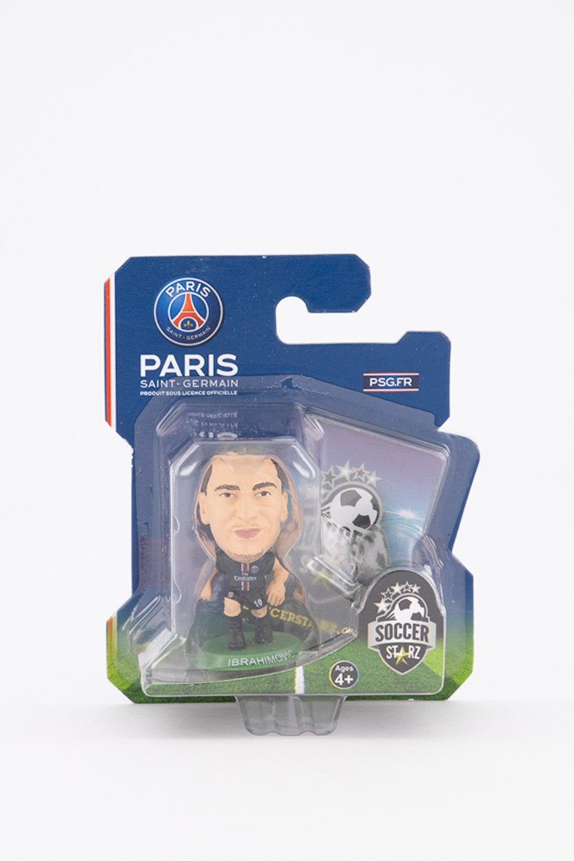 Paris Saint Germain Zlatan Ibrahimovic Figure, Black