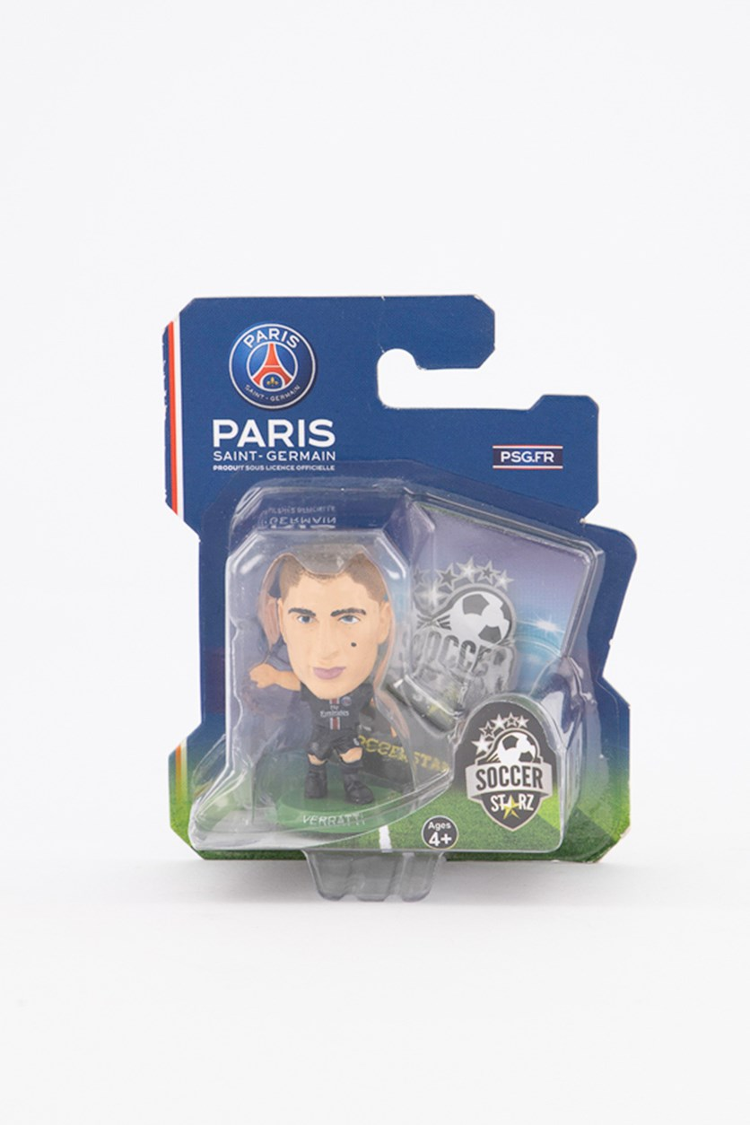 Paris Saint Germain Marco Verratti Figure, Black