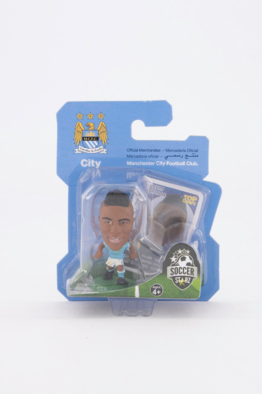 Manchester City Raheem Sterling Figure, Blue