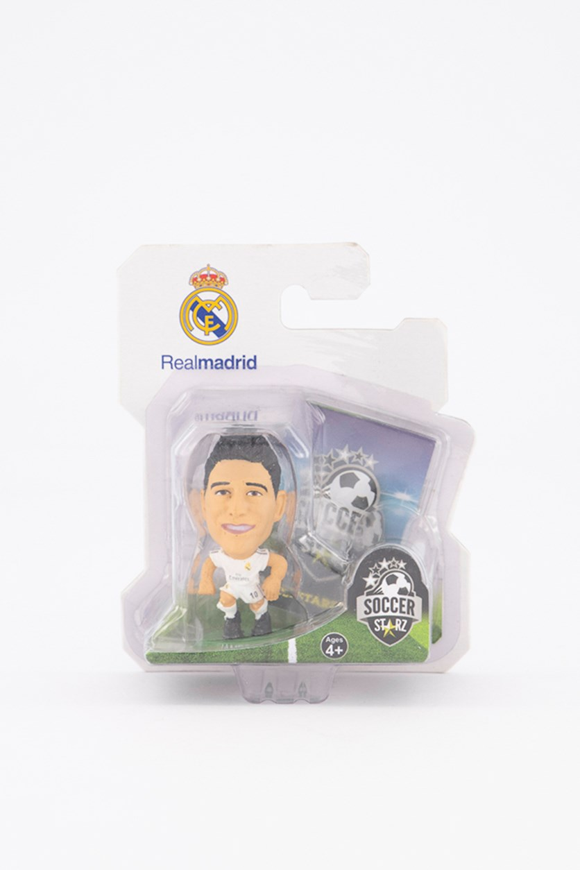 Real Madrid James Rodriguez Figure, White