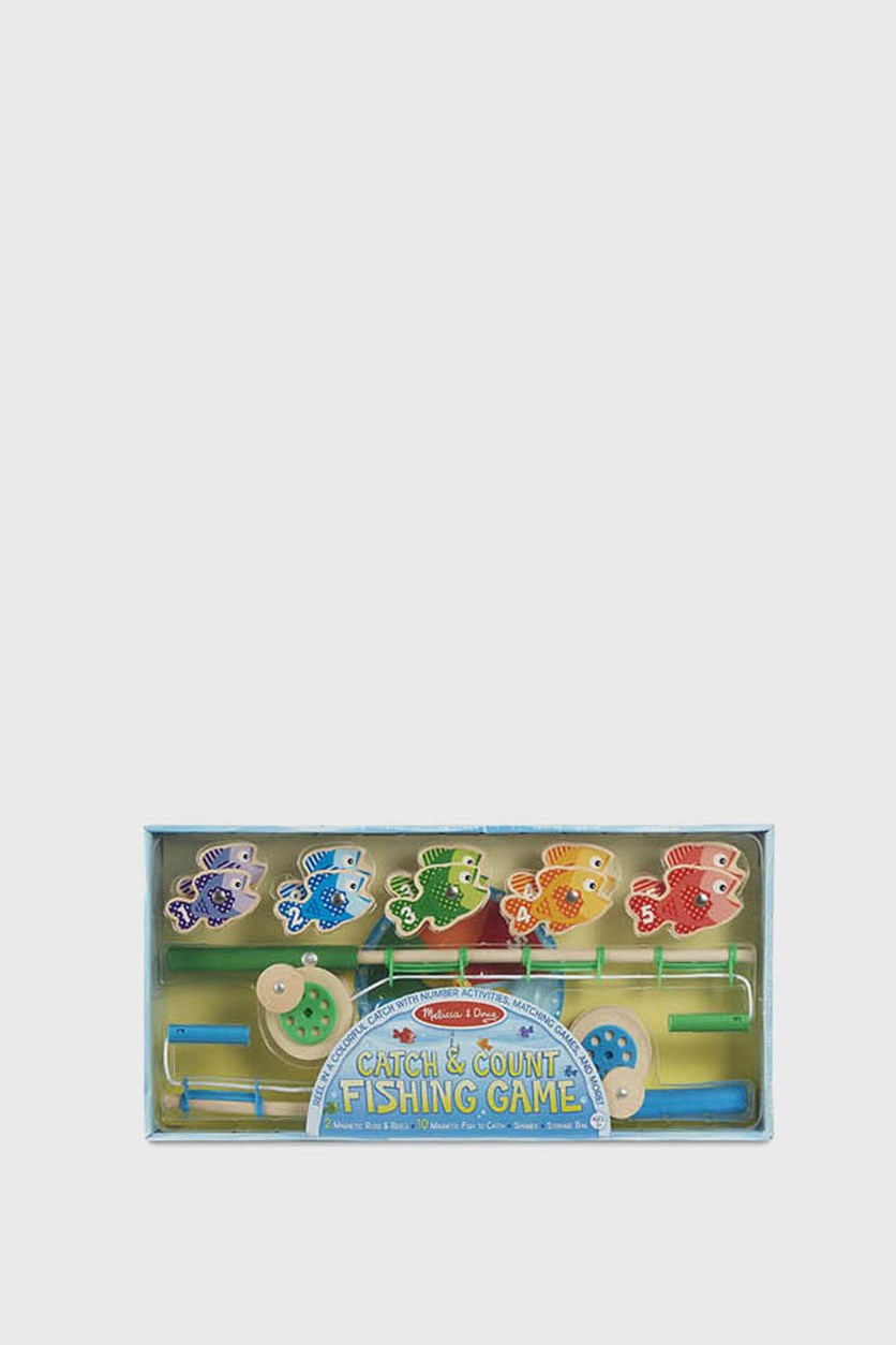 Catch Count Fishing Game, Blue Combo