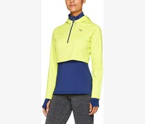 Women's Sportswear Jacket, Lime Green/Blue