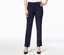 Jm Collection Super-Stretch Pull-On Pants, Navy