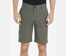 Men's Cliff Peak Classic-Fit Stretch Performance Heather, Olive Night