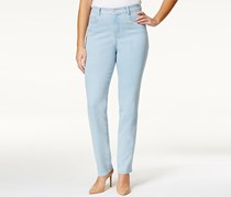 Style & Co. Womens Plus Denim Tummy Control Slim Leg Jeans, Sedona