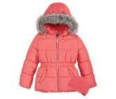 Protection Systems Girl's Bubble Jacket, Coral