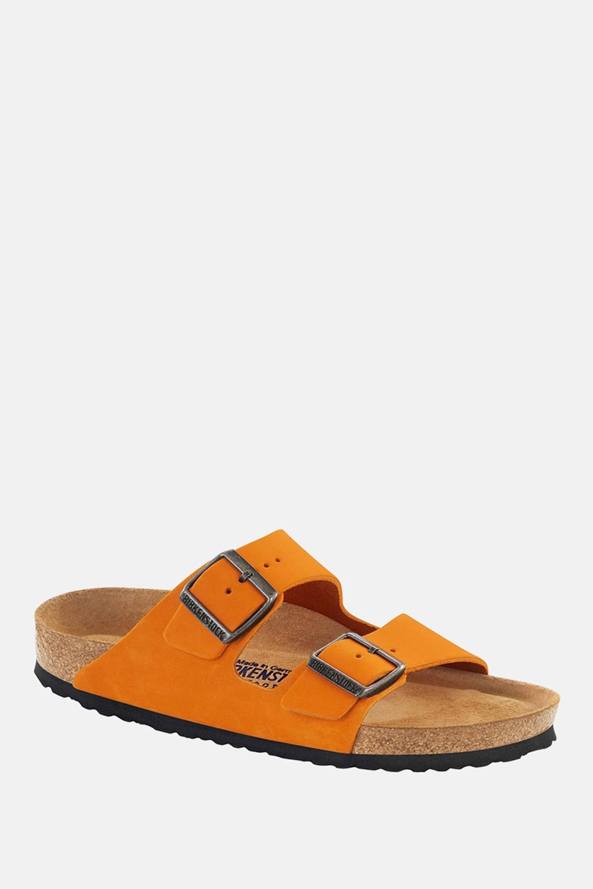 Unisex Arizona Soft Footbed Sandals, Orange