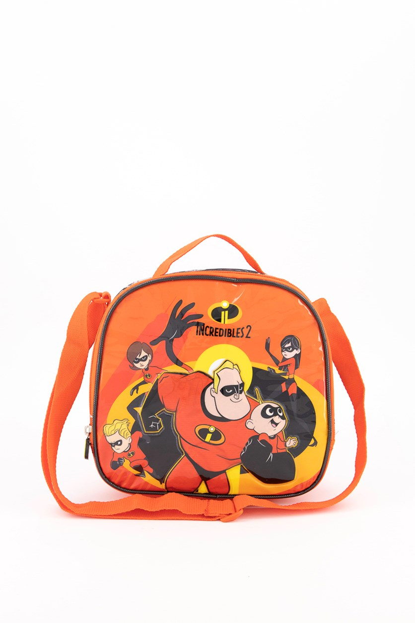 Boy's The Incredibles Lunch Bag, Red