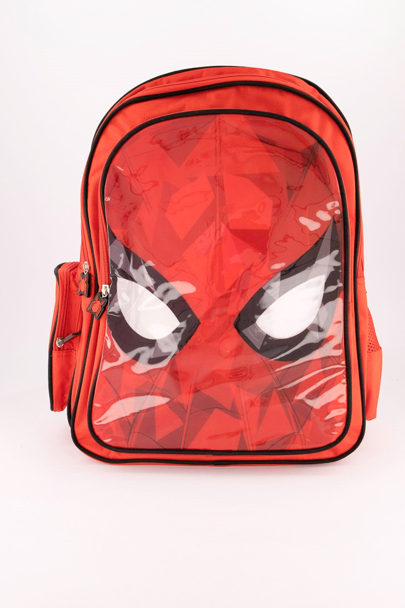 Boy's Spider Man Backpack, Red