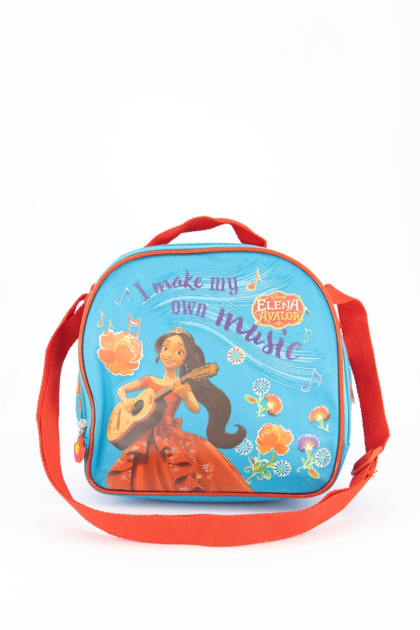 Elena Of Avalor Lunch Bag, Blue/Red Combo