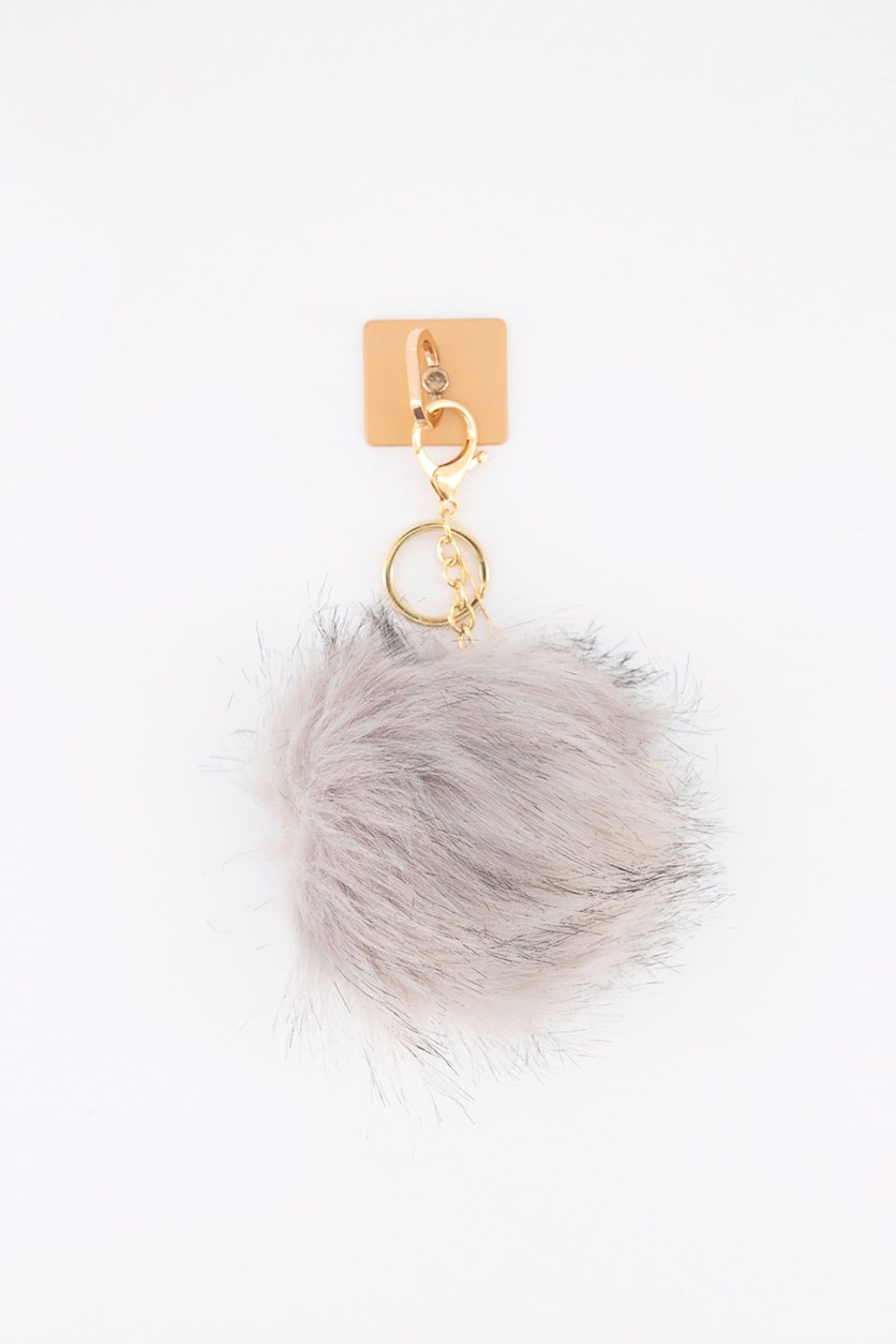 Ring + Grey Hair Keychain for Smartphones