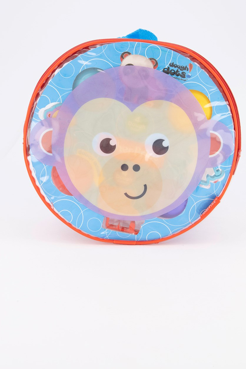 Dough Dots On The Go Play Set Monkey, Blue