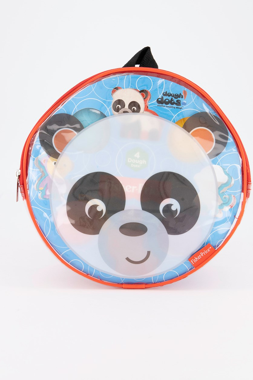Dough Dots On The Go Play Set Panda, Black