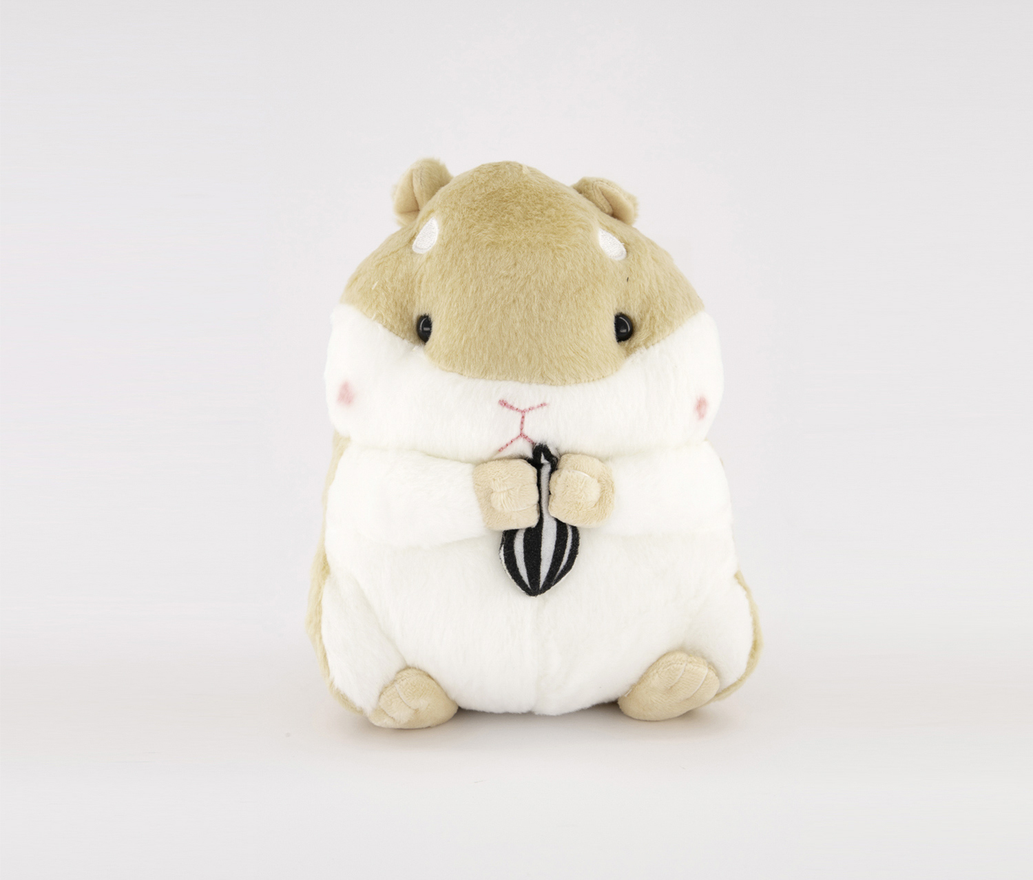 Hamster Plush Toy, White/Light Brown