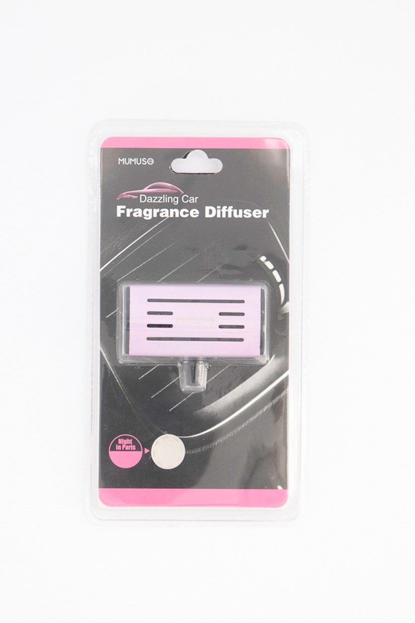 Dazzling Car Fragrance Diffuser- Night in Paris, Pink