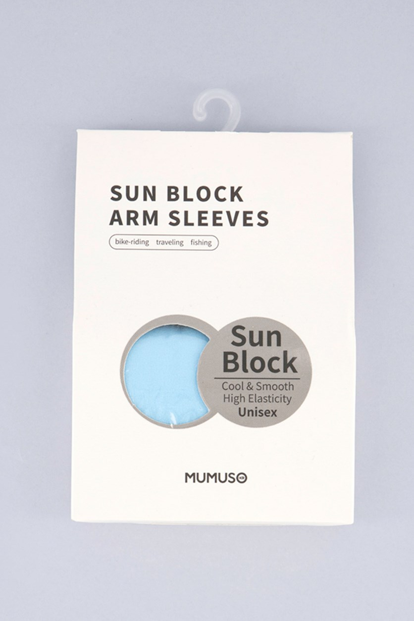 Sun Protection Cooling Arm Sleevelets, Blue