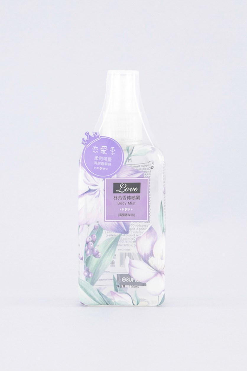 Body Mist Vanilla Scent, 100 ml