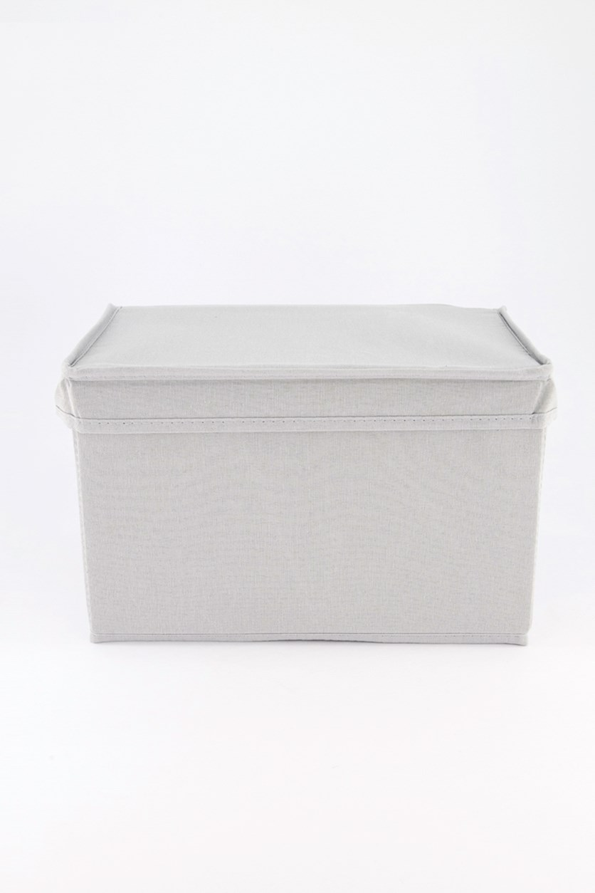 Storage Box, Grey/Beige