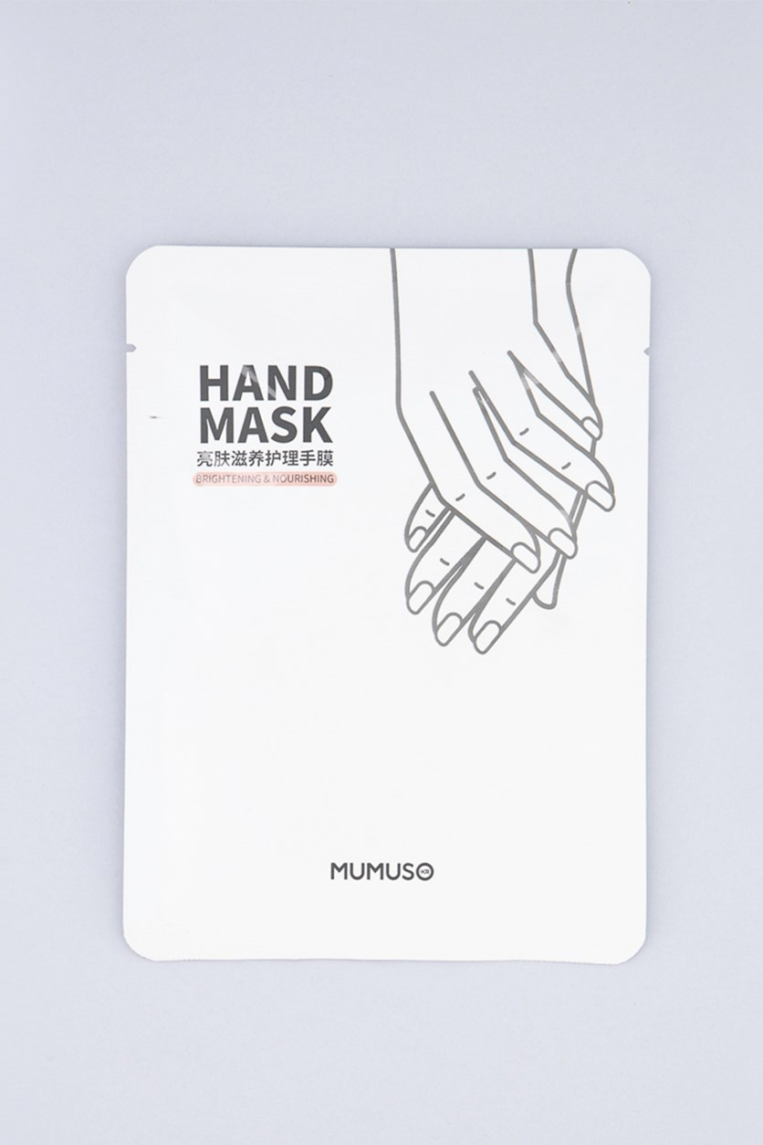 Hand Mask 1 Piece, White