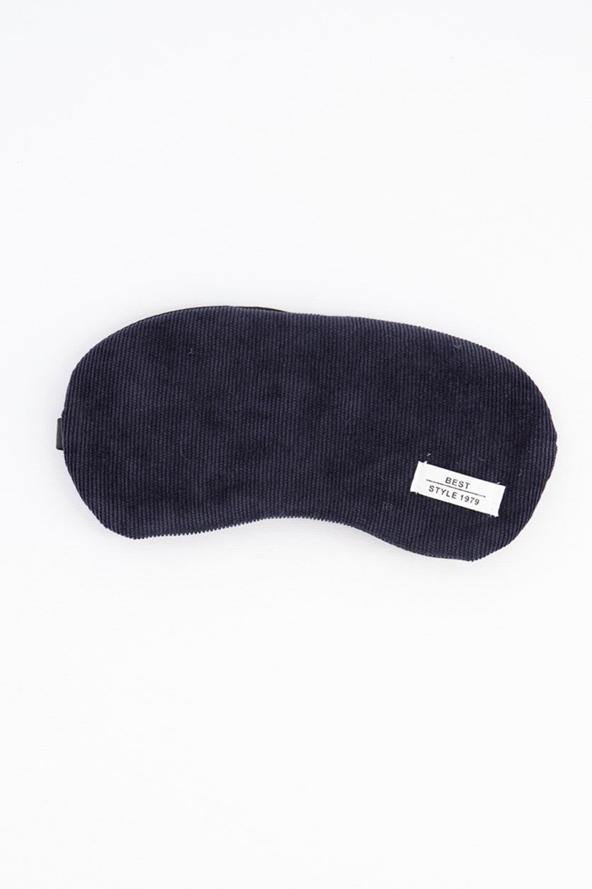 Solid Color Eye Mask, Sapphire Blue