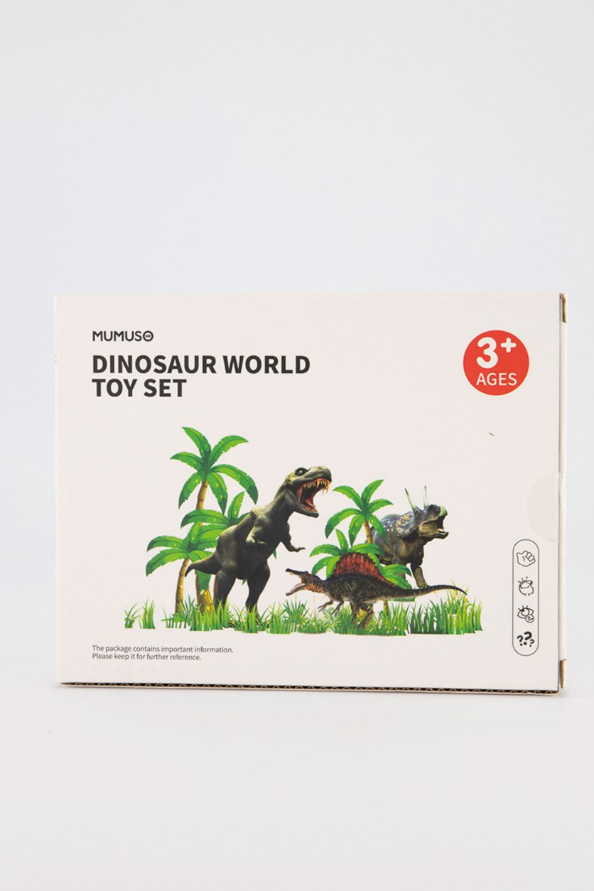 Dinosaur World Toy Set, Green Combo