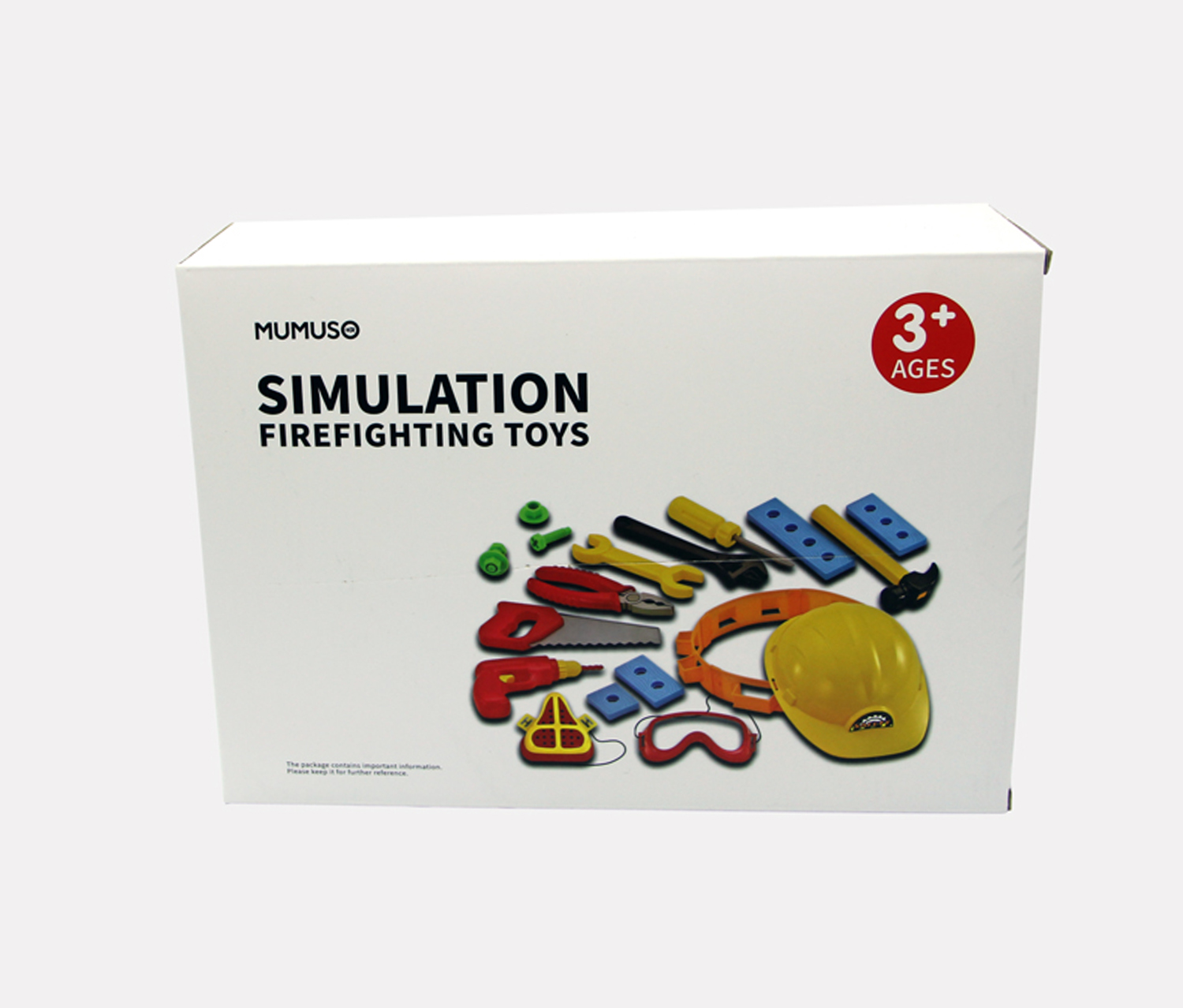 Simulation Firefighting Toys, Yellow/Blue