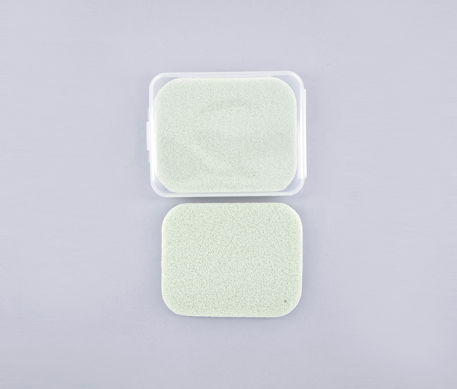 Wettable Facial Cleansing Sponge 2 Pack