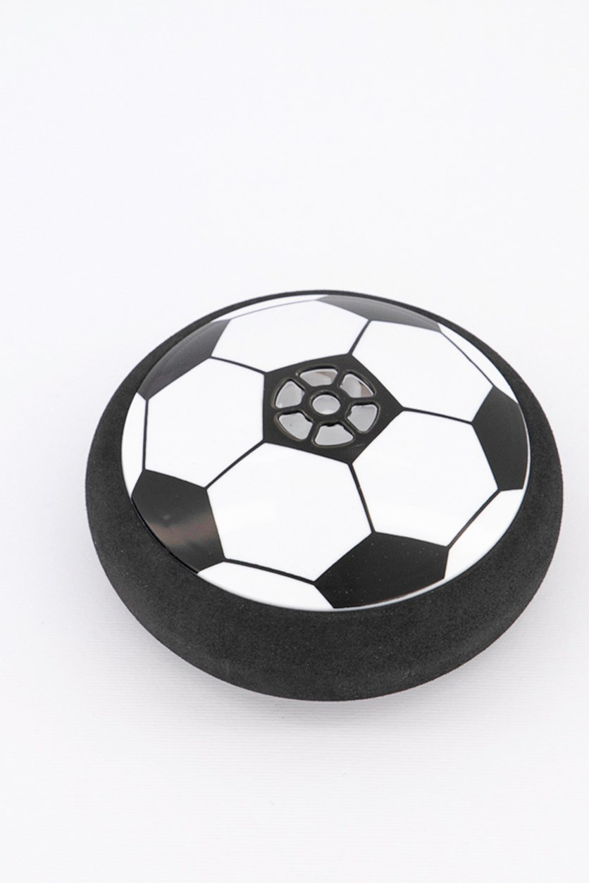 Indoor Soccer Toy With LED Light, Black/White