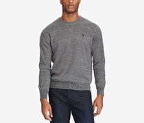 Polo Ralph Lauren Men's Crew-Neck Sweater, Grey