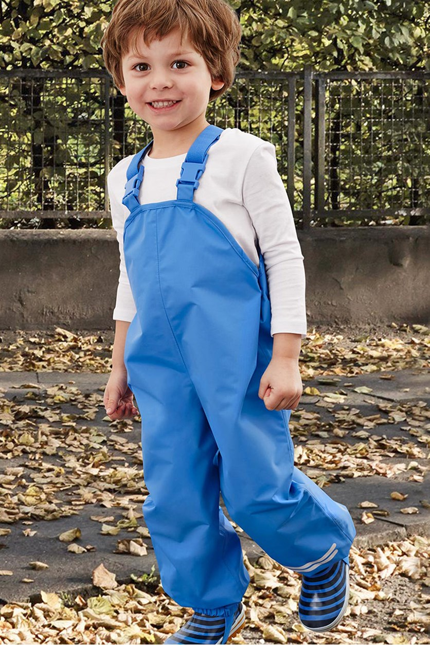 Toddler's Taft Rain Pants, Blue