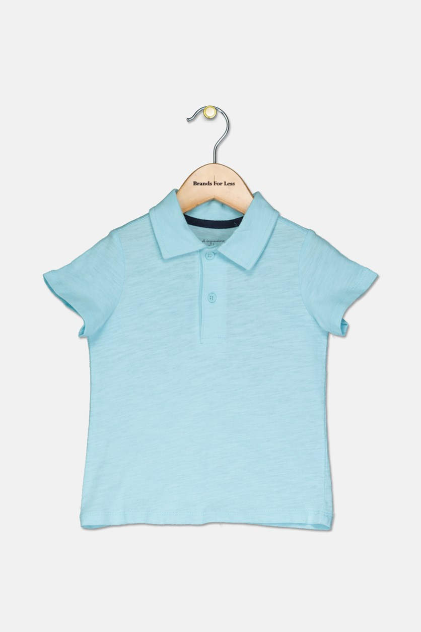 Baby Boy Plain Polo, Splashy