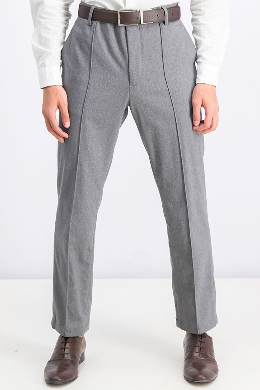 Men's Heather Sailor Pants, Dark Grey Melange