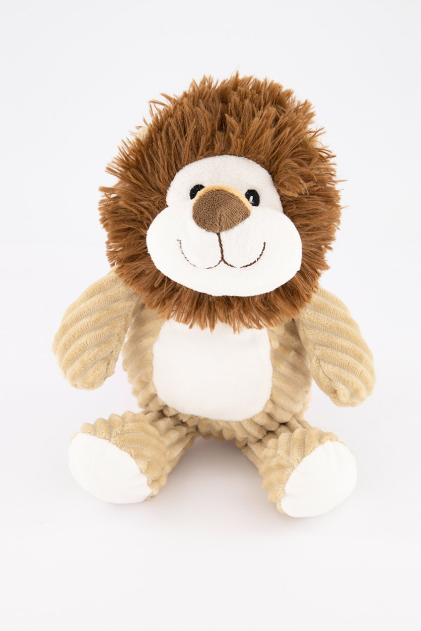 Lion Plush Toy, Brown