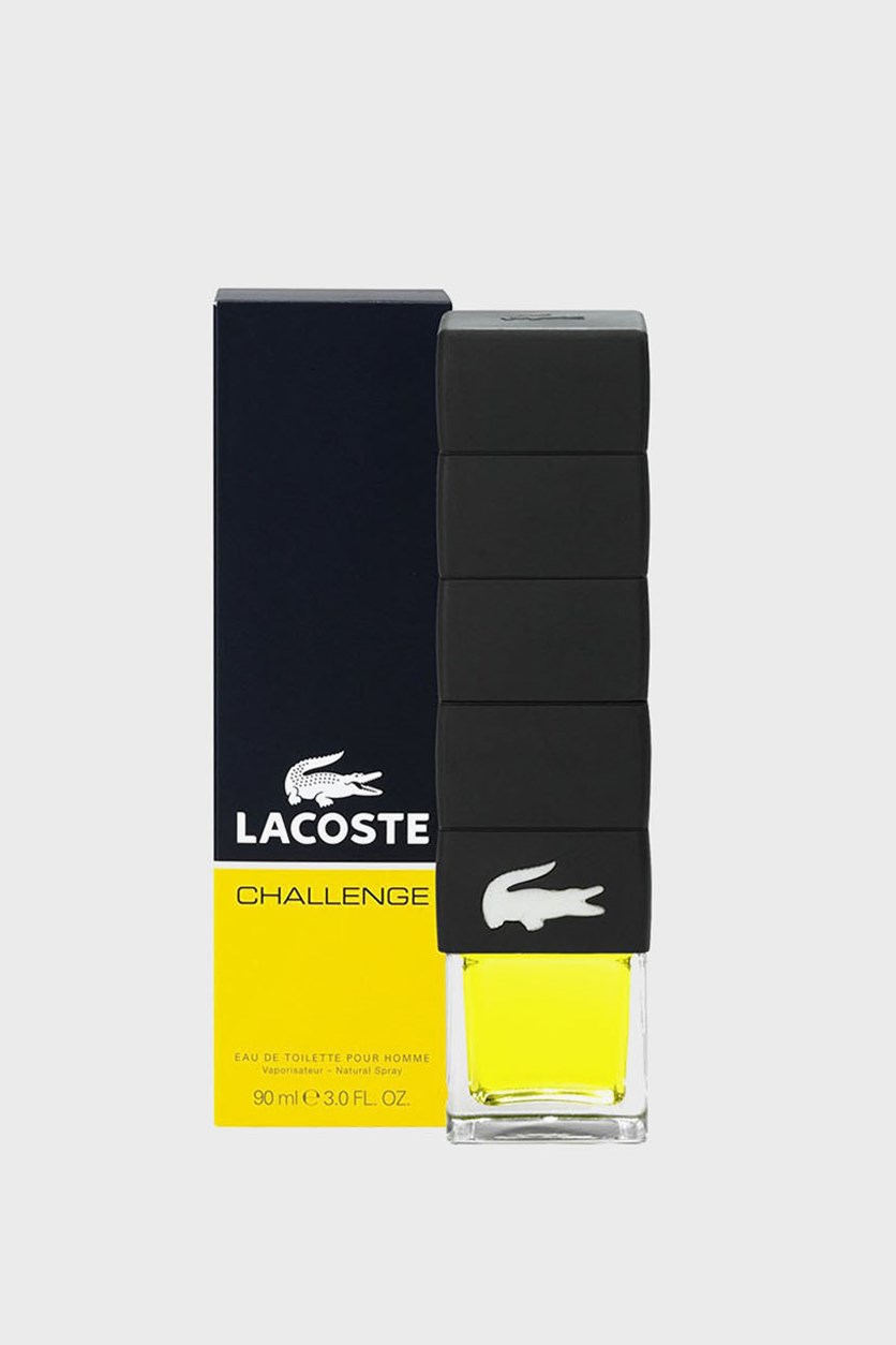 Men Lacoste Challenge Eau De Toilette Pour Home Natural Spray, 90ml