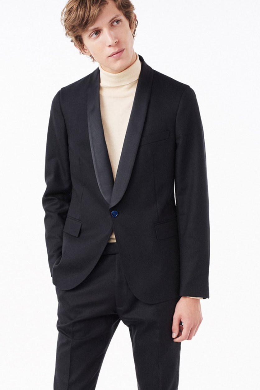 Men's Tuxedo Blazer, Navy/Midnight