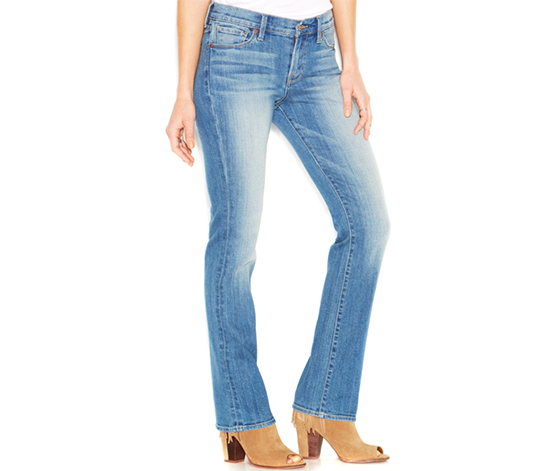 Lucky Brand Women's Brooke Boot-Cut Jeans, Arlie Wash, Blue