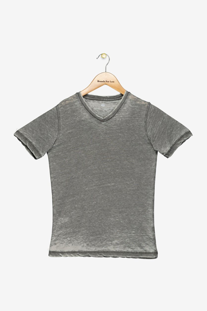 Big Boys Washed T-Shirt, Grey