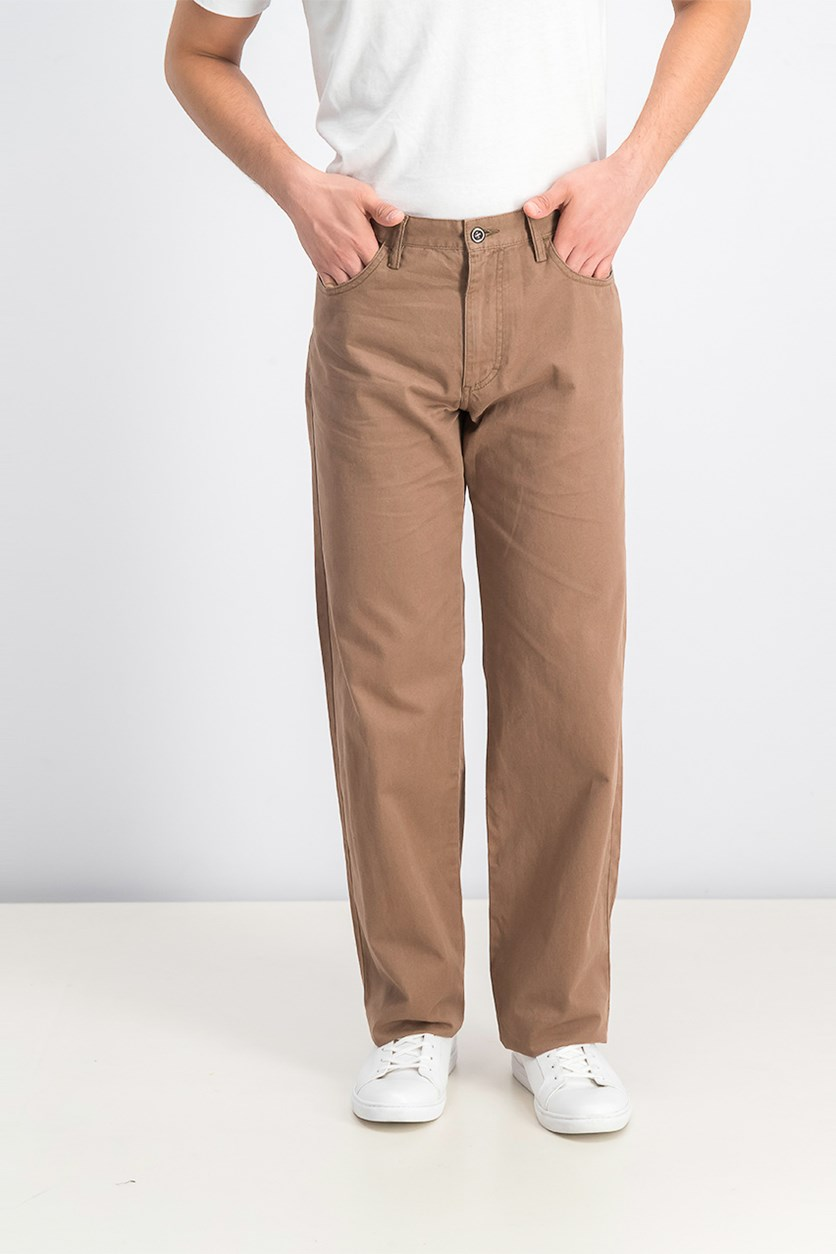 Men's Five Pocket Pants, Brown