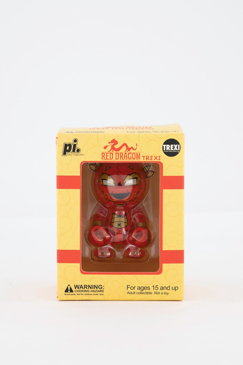 Red Dragon Trexi Figure, Red