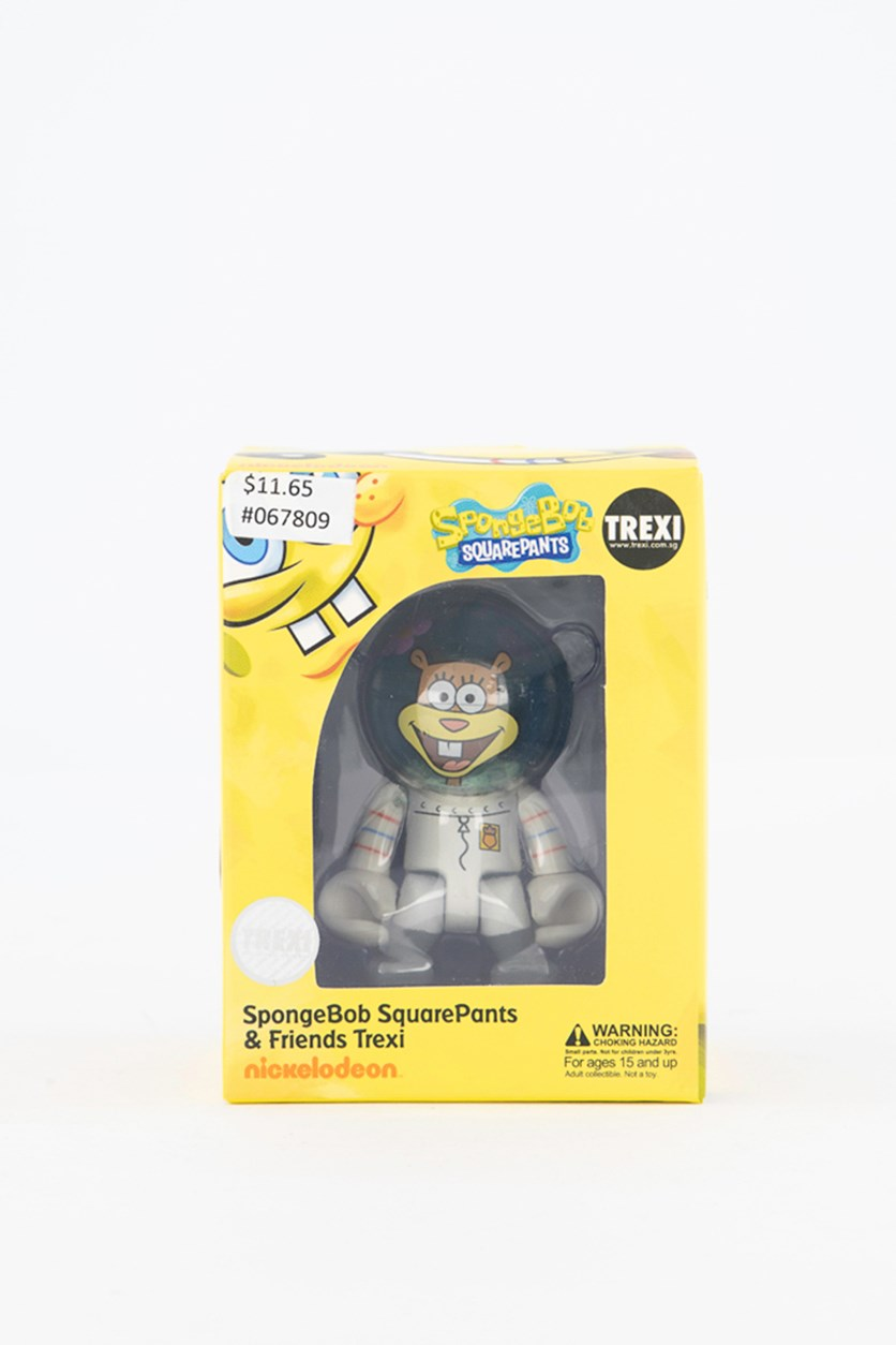 SpongeBob SquarePants & Friends Trexi - Sandy Figure, White/Grey