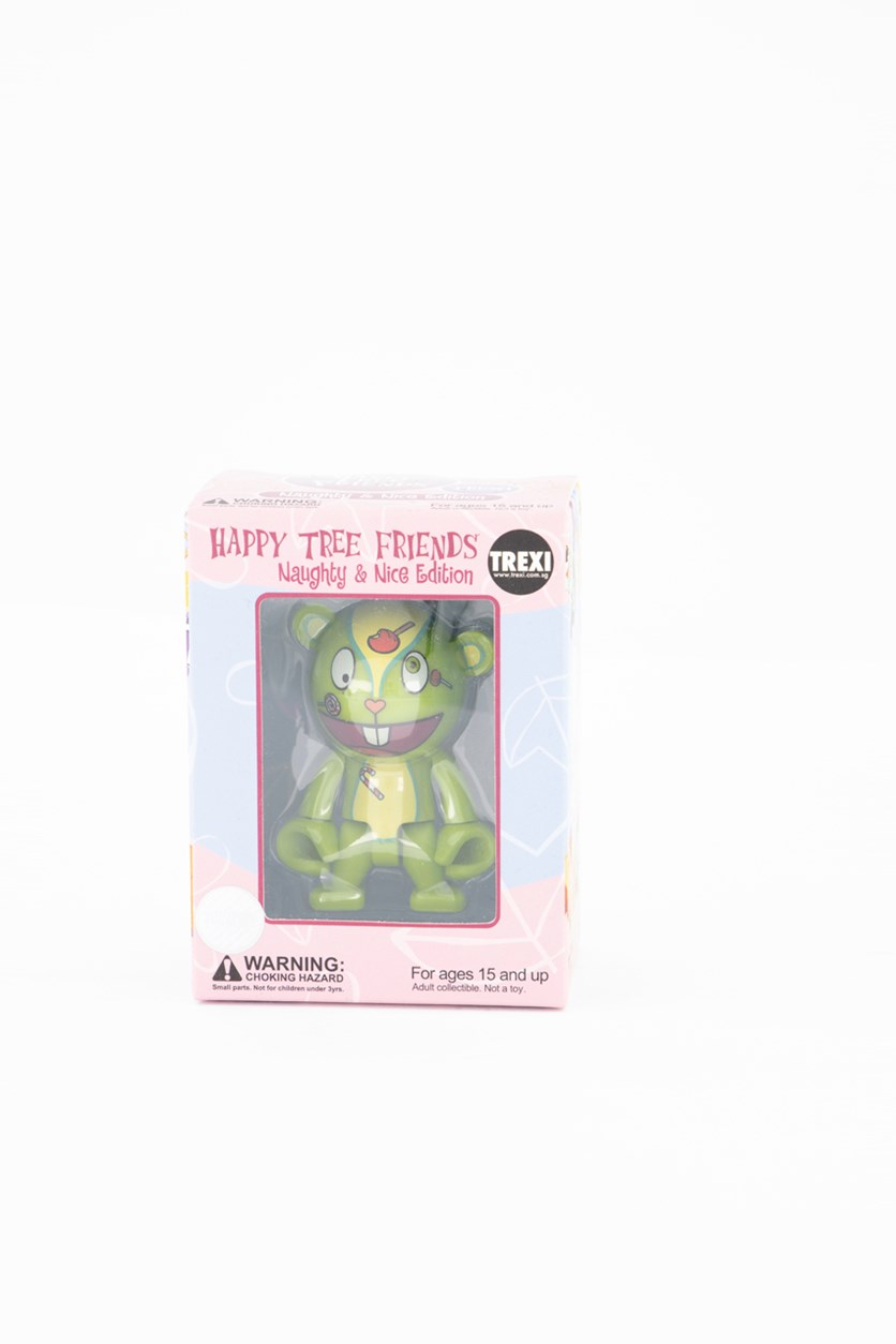 Happy Tree Friends Trexi Figures  Nutty, Light Green