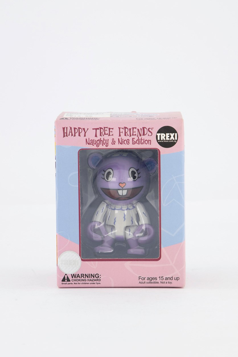 Happy Tree Friends Trexi Lammy & Mr.Pickels Figure, Purple/White