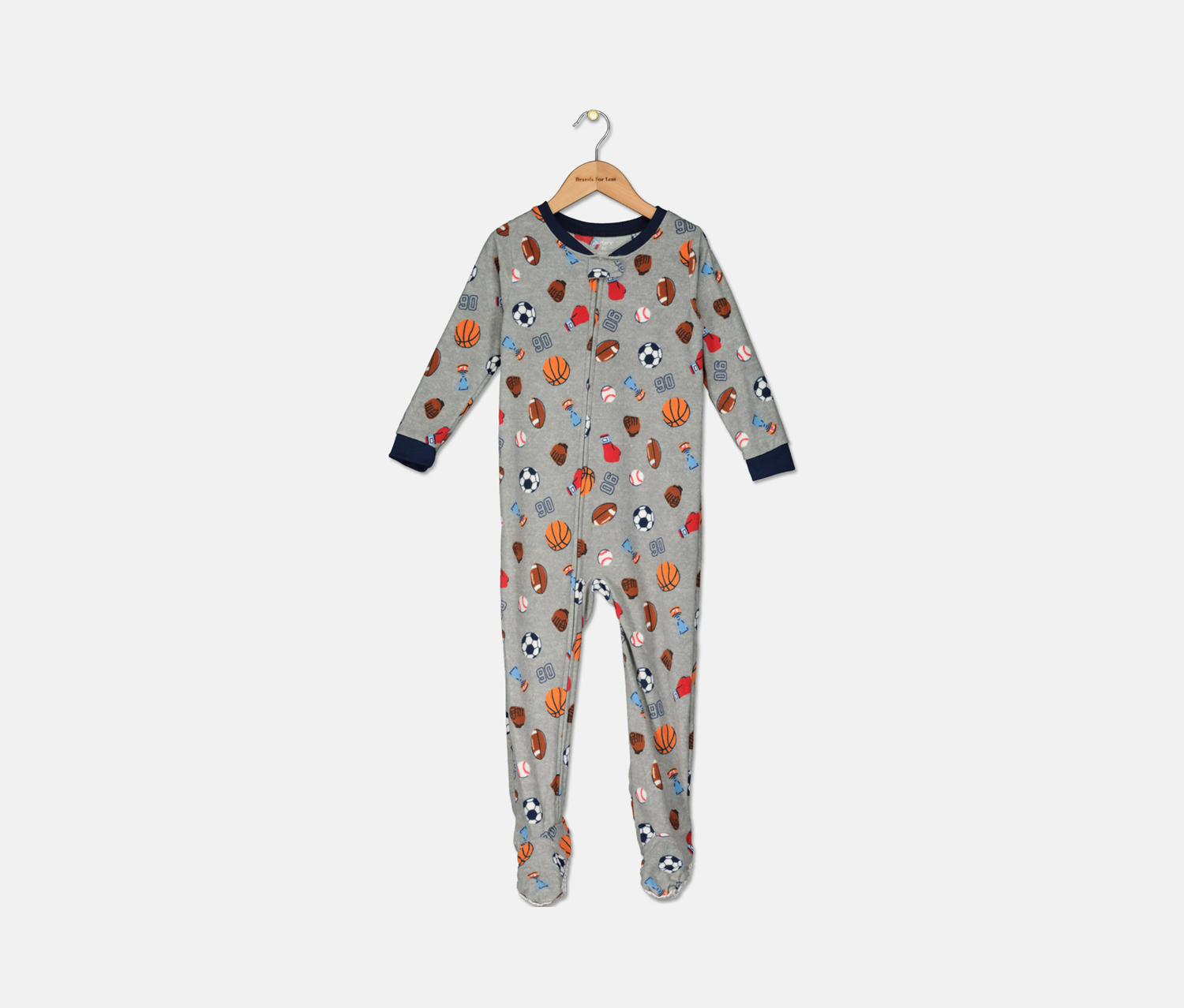 Carter/'s Boys/' 1-Piece Footed Pajamas