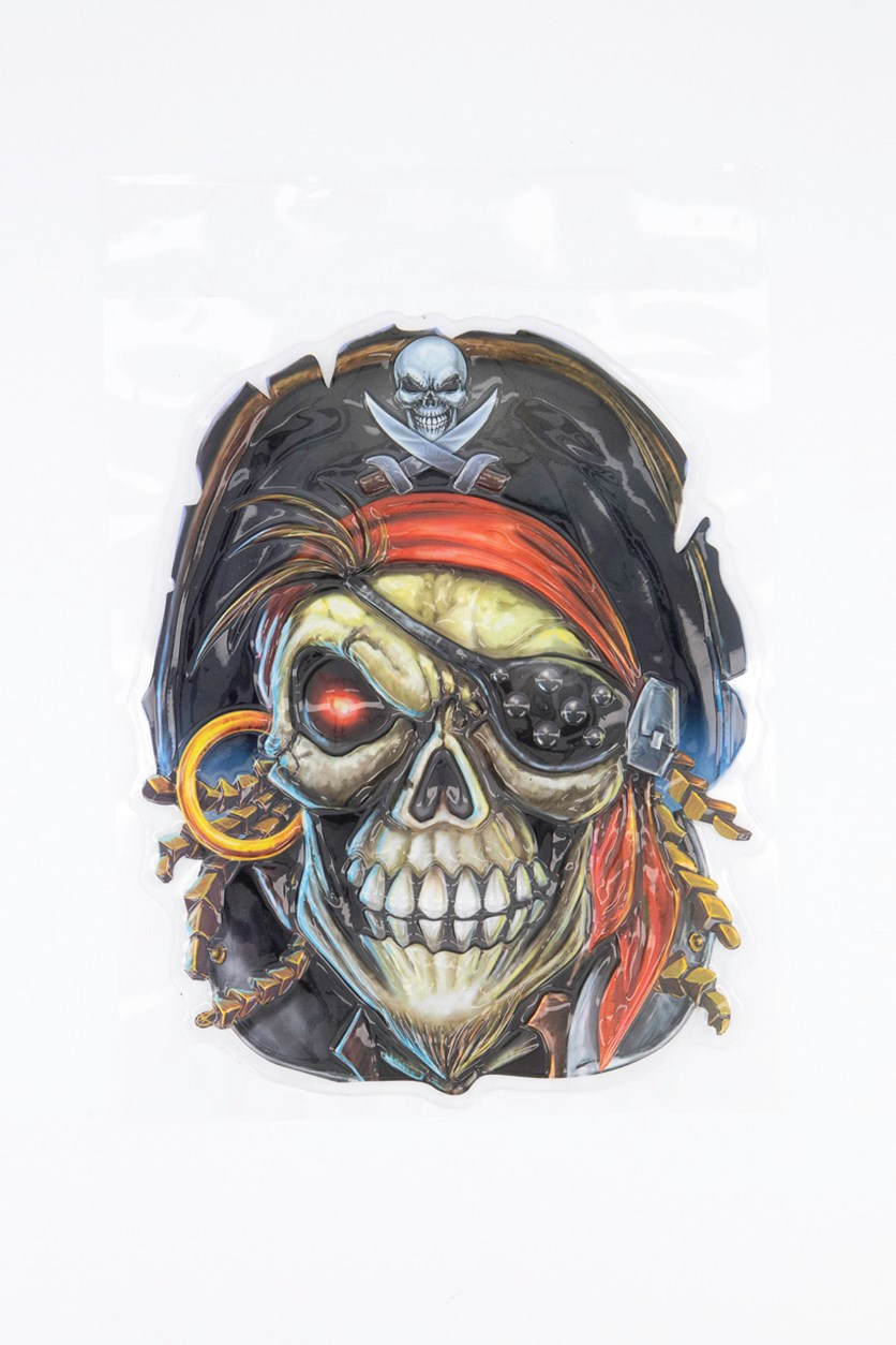 Window Decoration Pirate Ghost, Black Combo